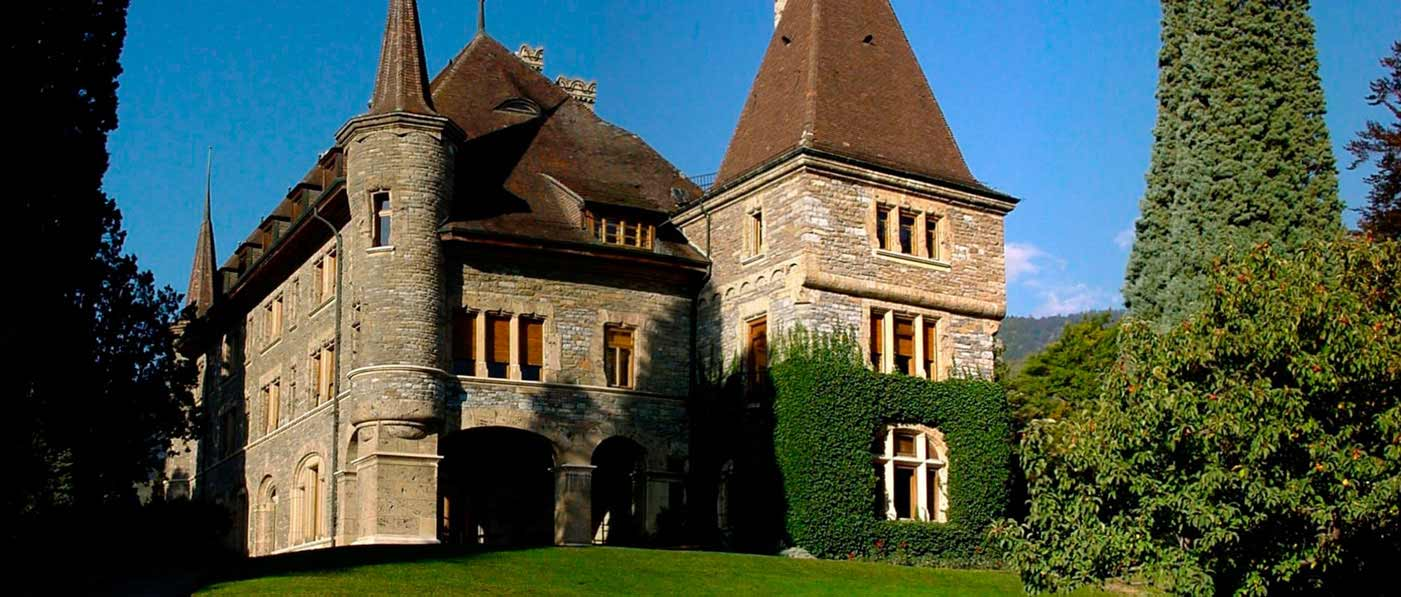 The Château Mercier, where Plume & Pellicule workshop takes place