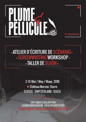 Concours de scénarios Plume & Pellicule 2018