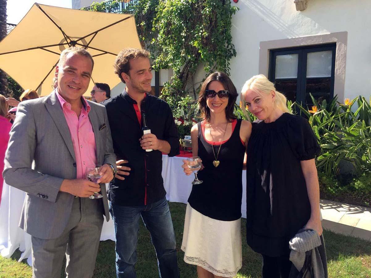 Garden party organisée pour DreamAgo par le Consul Général de Suisse à Los Angeles
