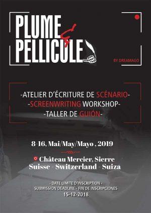 Atelier d'écriture de scénario Plume & Pellicule 2019