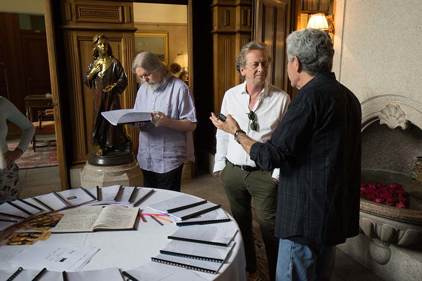 Christopher Hampton Plume & Pellicule © Thomas La Griffe lagriffe-studio.com