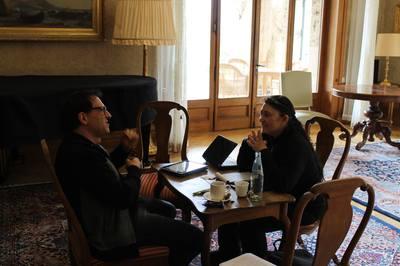 Les scénaristes Gabriel Mamruth & Cinthea Stahl
