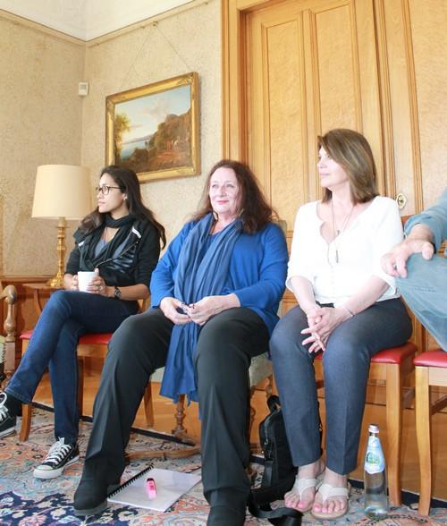 Réunion globale, avec les scénaristes et l'équipe de DreamAgo