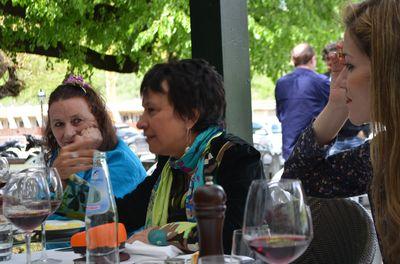 La scénariste & consultante Lindy Davies, Pascale Rey, Marta Gómez
