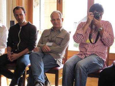 Le réalisateur & interprête Nicolás Serrano & le consultant Arturo Arango