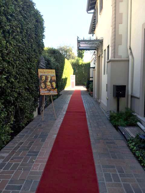 L'entrée du Consulat Suisse à los Angeles