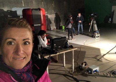 Tournage à Saint Ouen pour le teaser de Plume & Pellicule 2018
